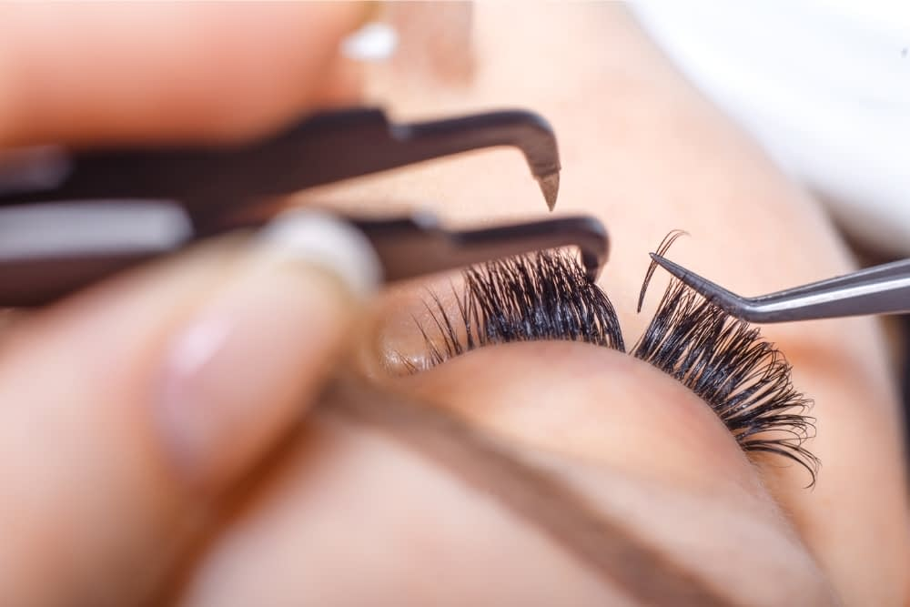 Do lash extensions ruin your real lashes